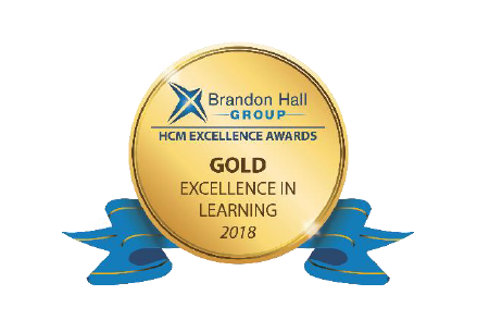 Brandon Hall Group Excellence in Learning Award