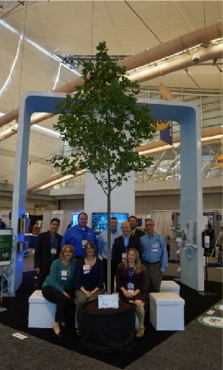 Tork donated a tree at AHE's annual Exchange conference